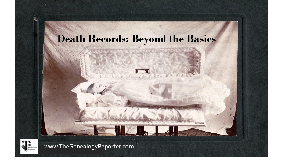 death records for genealogy beyond basics