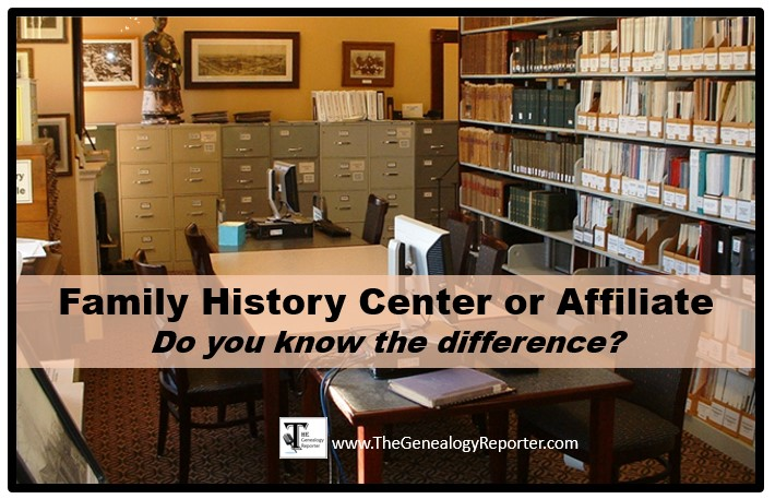 What's a Family History Center Affiliate? – The Genealogy