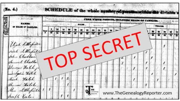 The Secret Hiding in the 1840 U.S. Census