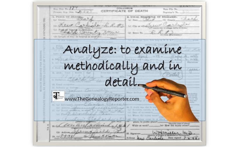 analyze genealogy records the right way