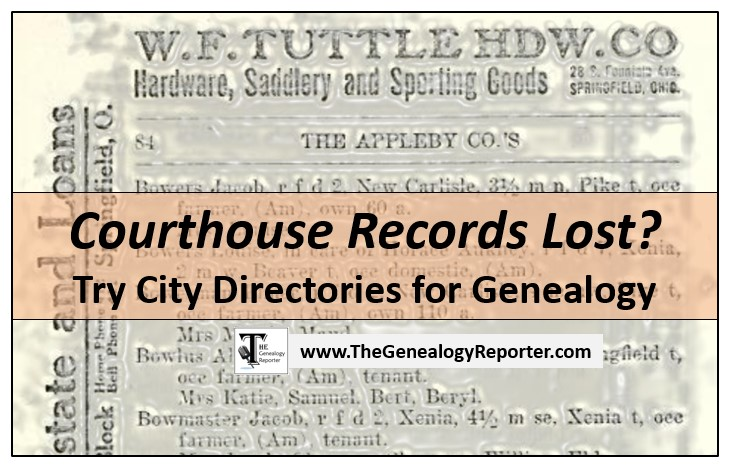 city directories for genealogy alternative