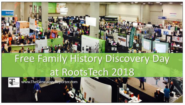 Free Family Discovery Day at RootsTech: Registration Now Open