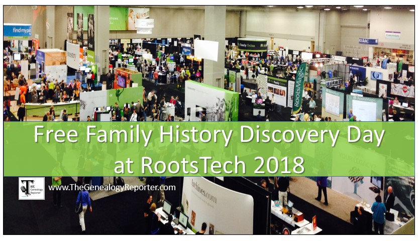 Register for Family Discovery Day at RootsTech