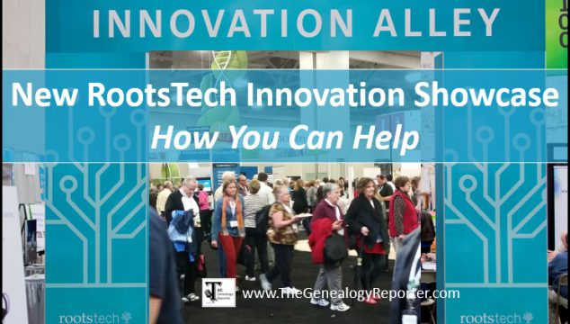 New RootsTech 2018 Innovation Showcase Needs Your Help!