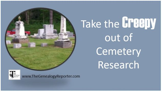 Virtual Cemeteries for Genealogy Success