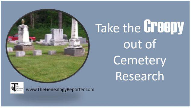 Virtual Cemeteries for Genealogy Success