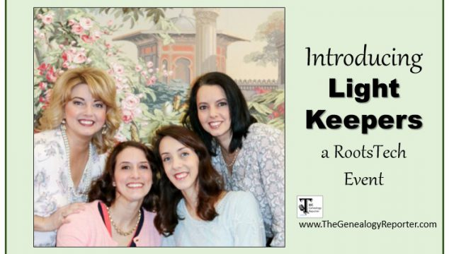 Light Keepers: A Family History Experience for Women at RootsTech 2018