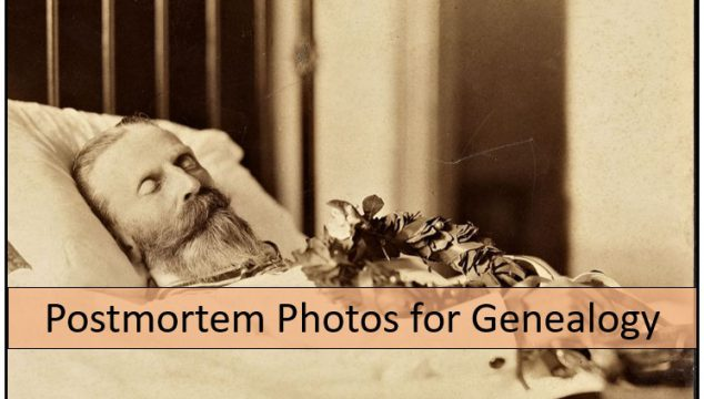 Postmortem Photos for Halloween