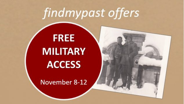 Free Military Records Search for Veterans Day