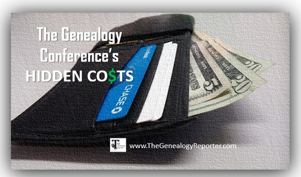 hidden genealogy conference costs