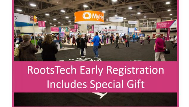Check-in to RootsTech Early for Special Gift