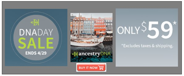 DNA Day sale Ancestry