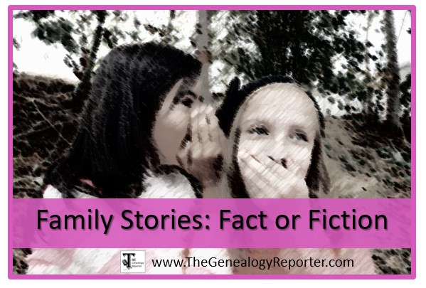 proving family stories with research
