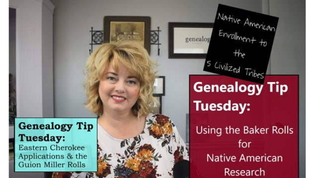 Native American Genealogy Research: 3 FREE How-to Videos