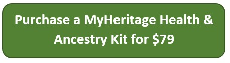 MyHeritage Health and Ancestry kit