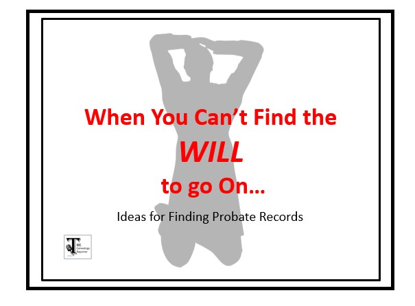 finding will records for genealogy