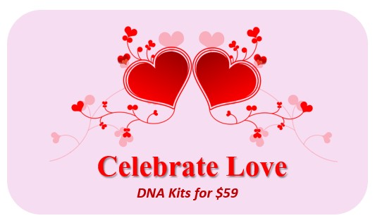 3 Companies Offer $59 DNA Test Kit for Valentine's Day