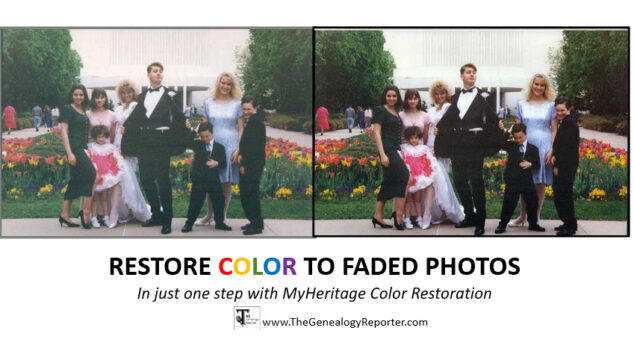 Color Restoration at MyHeritage