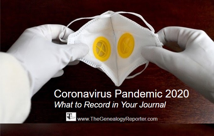 writing about coronavirus pandemic of 2020