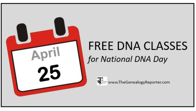 Free DNA Classes from the Family History Library