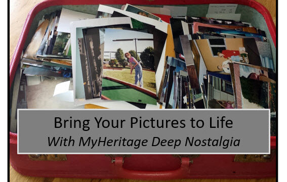 MyHeritage Deep Nostalgia Brings Pictures to Life