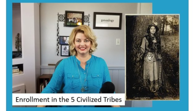 Native American Enrollments to the Five Civilized Tribes