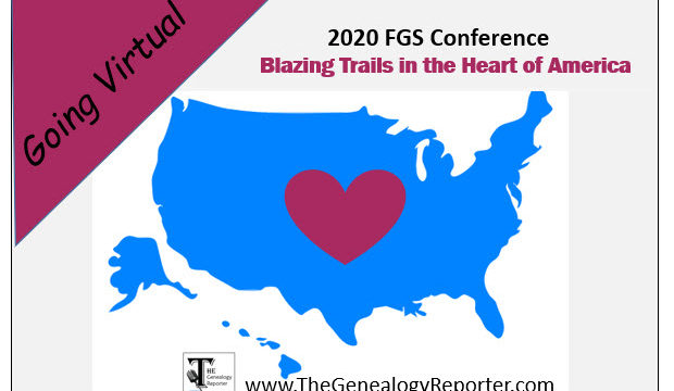 FGS Annual Conference Goes Virtual for 2020