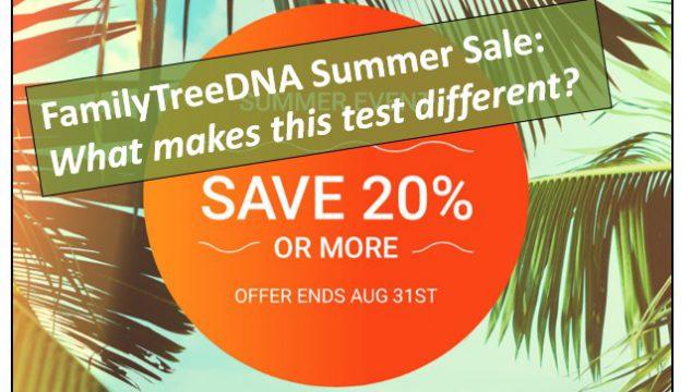 FamilyTreeDNA Test Kits on Sale Now