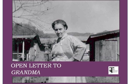 Open Letter to Grandma