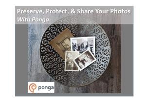 Save your photos with Ponga