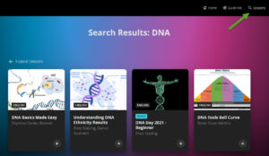 Free DNA webinars from RootsTech