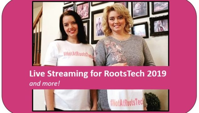Watch Live Streaming Classes at RootsTech.org