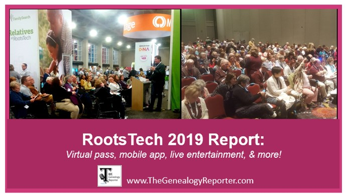 RootsTech 2019 expo hall