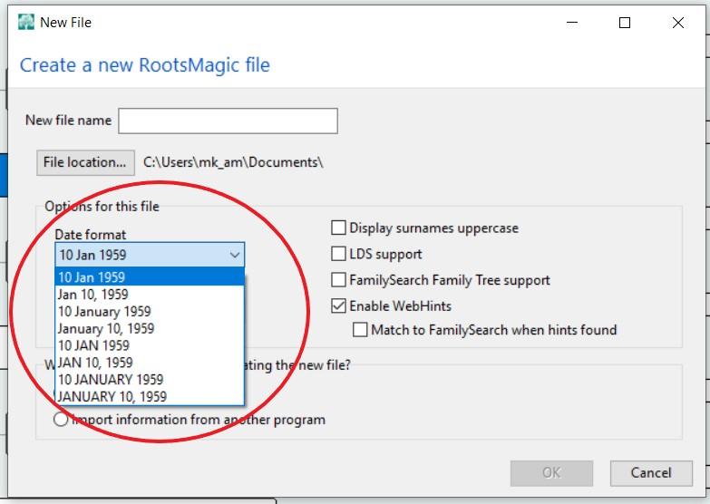 genealogy date formats