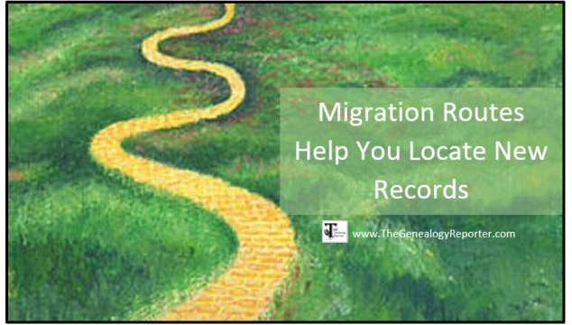 Migration Routes Help You Locate New Records